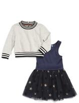 Truly Me Infant Girl's Sweatshirt & Tulle Dress Set
