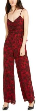 Michael Kors Michael Lace-Print Jumpsuit, Regular & Petite