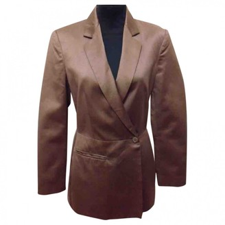 Byblos Brown Cotton Jacket for Women