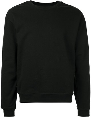 RtA zip detail sweatshirt