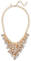 New York & Co. Bezel-Set Statement Necklace