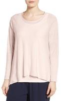 Eileen Fisher Petite Women's Organic Linen Blend Swing Sweater