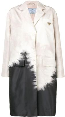 Prada Tie-Dye Print Jacket