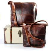 The Leather Store Cabot Large Leather Messenger Bag