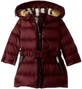 Burberry Girly Puffer Girl's Coat