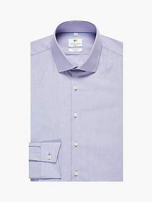 Richard James Mayfair Chambray Slim Fit Shirt