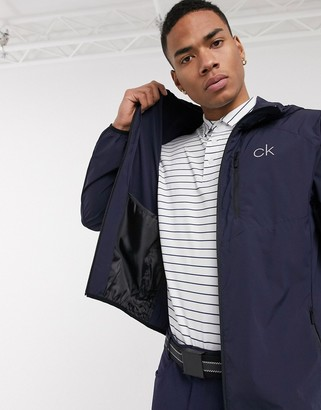 Calvin Klein Golf 24/7 Ultralite jacket in navy
