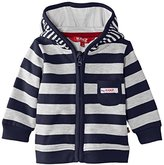 Kanz Unisex Baby 1/1 Sleeves W. Hood Striped Jacket