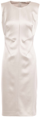 Elie Tahari Dorit Satin-crepe Dress