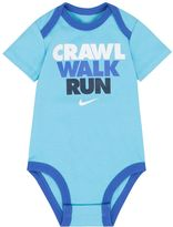 "Nike Baby Boy Crawl, Walk, Run"" Graphic Bodysuit"