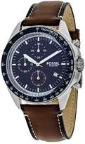 Fossil Sport 54 CH3039 Men's Stainless Steel Chronograph Watch with Tachymeter
