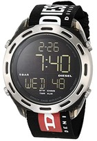 Diesel Crusher Digital Watch (Black) Watches