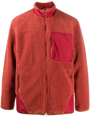 Descente Contrast Pocket Fleece Jacket