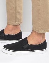 Jack and Jones Surf Canvas Slip On Sneakers