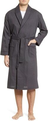 Majestic International Stretch Out Shawl Collar Robe