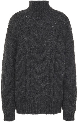 IRO Cable-knit Turtleneck Sweater