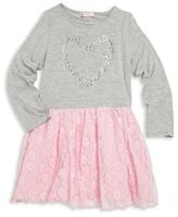 Design History Toddler's & Little Girl's Floral Lace Dress