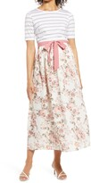 Thumbnail for your product : Savi Mom Florence Tie Waist Maternity Maxi Dress