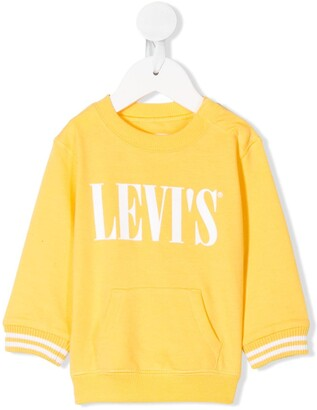 Levi's Crew-Neck Logo Sweatshirt