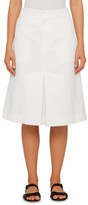 Bassike Canvas Pleat Front Skirt