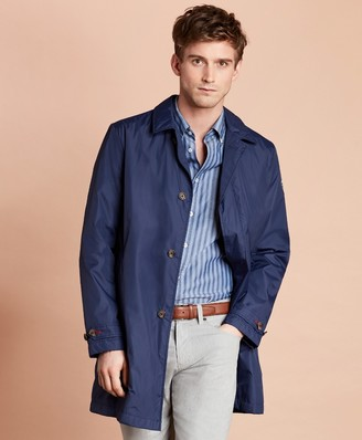 Brooks Brothers Water-Repellent Packable Trench Coat