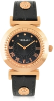 Versace Vanity Lady Black Women's Watch