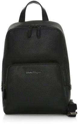 Salvatore Ferragamo Firenze Leather Sling Backpack