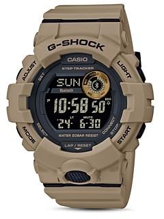 G-Shock Digital Trainer Bluetooth Watch, 48.6mm