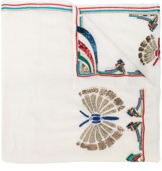 K. Janavi Prospect Park cashmere scarf
