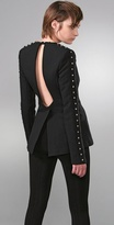 Tailored Jacket wtih Rivets