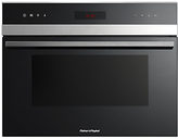 Fisher & Paykel OM36NDXB1 Built-In Combination Microwave, Stainless Steel/Glass