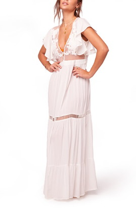 B.O.G. Collective Band of Gypsies All You Need Is Love Maxi Dress