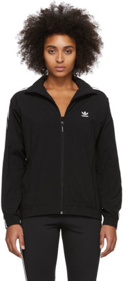 adidas Black Lock Up Track Jacket