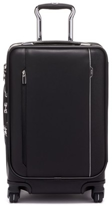 Tumi Arrive Leather Dual Access Carry-On Spinner (56cm)