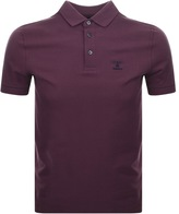 Barbour Joshua Polo T Shirt Burgundy