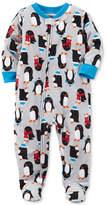 Carter's Penguin-Print Footed Pajamas, Baby Boy