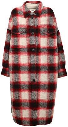 Etoile Isabel Marant Gabrion Wool Blend Long Coat