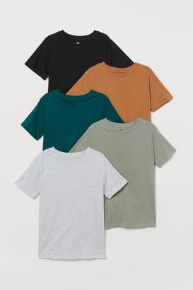 H&M 5-pack T-shirts