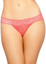 Seven Til Midnight SEVEN 'TIL MIDNIGHT Women's Chloe Lace Thong with Keyhole Back Detail