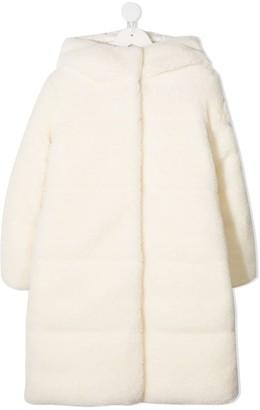 Moncler Enfant Textured Padded Coat