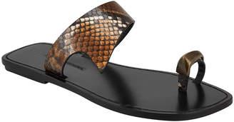 Sigerson Morrison Norton Flat Slide Sandals