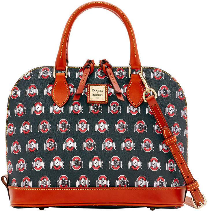 Dooney & Bourke NCAA Ohio State Zip Zip Satchel