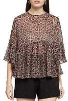 BCBGeneration Ruffle Hem Top