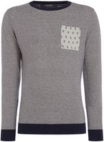 Scotch & Soda Men's Classic Crewneck Pullover with Pocket