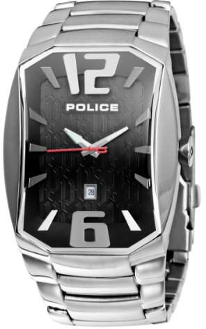 Police Men's PL-12179JS/02M Kerosine Black Dial Watch