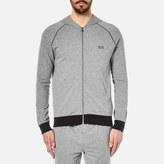 HUGO BOSS Men's Zipped Hoody Grey
