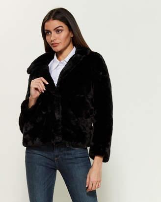 Joujou Jou Jou Faux Fur Jacket