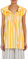 Thierry Colson Women's Striped Cotton Poplin Caftan