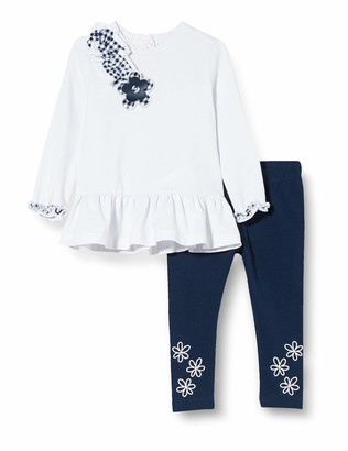 Chicco Baby Girls' Completino 2 Pezzi Bimba: T-Shirt Manica Lunga + Leggings Clothing Set