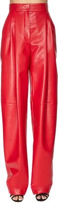 Philosophy di Lorenzo Serafini Faux Leather Wide Leg Pants